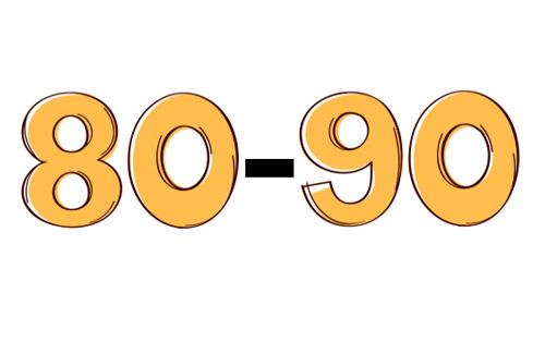 نمره ۸۰ تا 90 در آزمون تافل