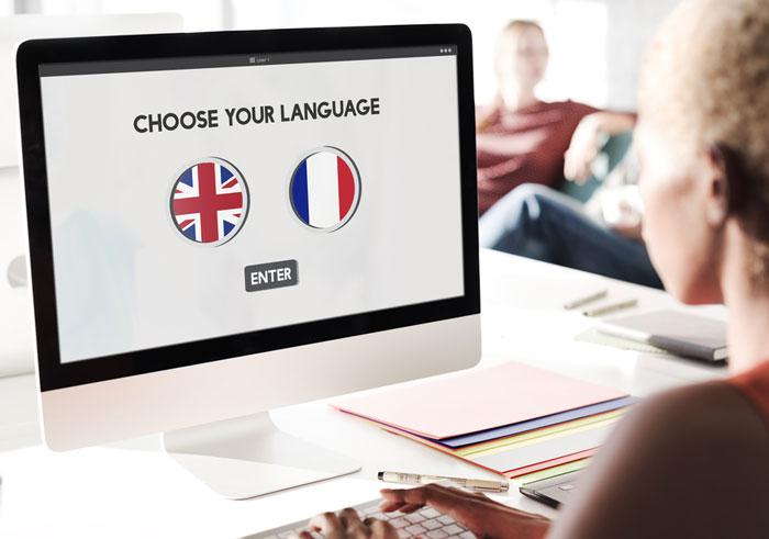 گرامر فرانسوی و انگلیسی