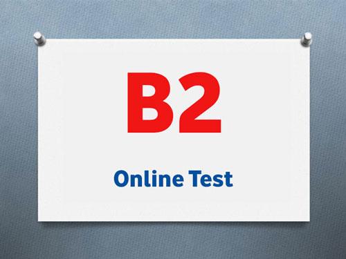 سطح B2 آزمون تومر ، موسسه زبان gmt
