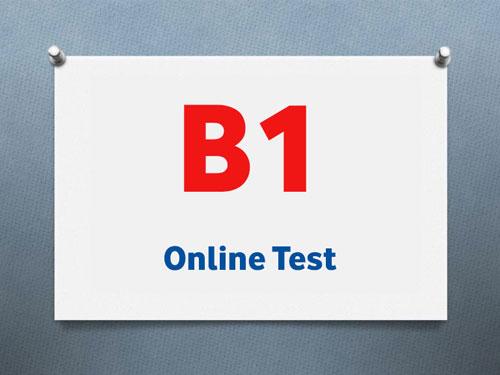 سطح B1 آزمون تومر ، موسسه زبان gmt