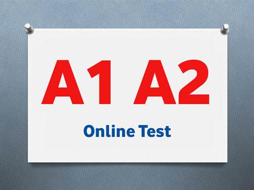 سطح A1 و A2 آزمون تومر
